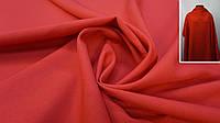 Тканина-габардин червоний, фото 1