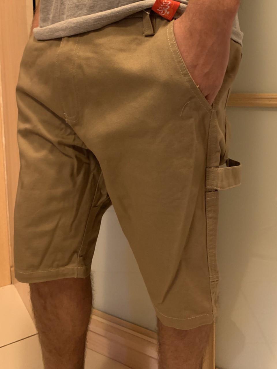 Бежевые мужские шорты MadProNess (Dickies,Carhartt,Dockers,Collins)
