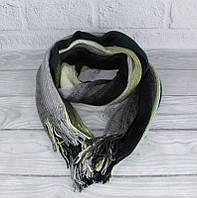 Вязаный шарф, палантин зеленый Vlasite 7380-1