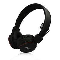Bluetooth стерео навушники MDR НЯ X2 бездротові навушники microSD з МР3 і FM Black (Чорний)