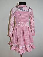 Детское платье для девочек 3-9 лет нарядное, фото 1