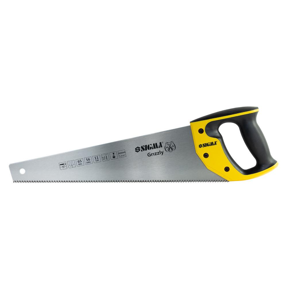 Sigma 4400871 Ножовка по дереву 400мм 11TPI Grizzly