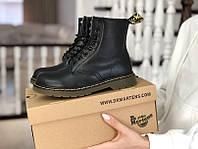 Женские ботинки Dr. Martens 1460 черные / ботинки женские Др. Мартенс