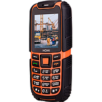 Противоударный телефон Nomi i242 X-treme Black-Orange