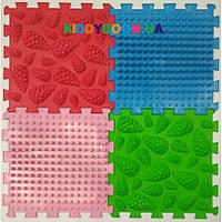 Массажный коврик Ortek (Ортек) Микс Пазлы (4 элемента) 7789