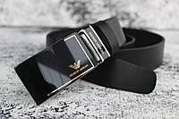 """Кожаный ремень мужской Giorgio Armani автомат """"NEW"""""""