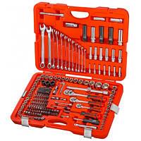 """Набір інструментів 216 одиниць JTC 1/2"""", 1/4"""", 3/8"""" 6граней H216C-R72 JTC"""