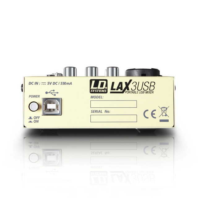 Микшерный пульт с USB LD Systems LAX3USB