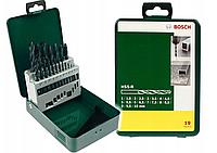Набор BOSCH HSS-R  Professional из 19 металлических сверл