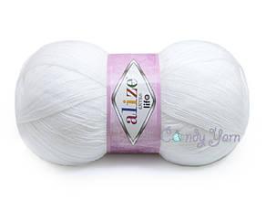 Alize Extra Life, Белый №911
