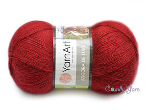 YarnArt Angora De Luxe, Вишневый №3024
