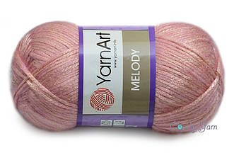 YarnArt Melody, Ярко-розовый №897