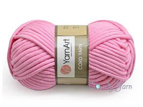 YarnArt Cord Yarn, Розовый №123
