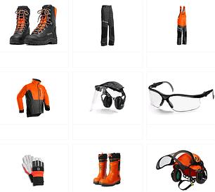 Защитное снаряжение и одежда