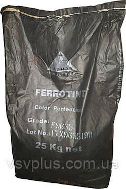 Пигмент Супер-чёрный железоокисный FERROTINT F 9635 неорганический Cathay Pigments Group сухой Китай 25 кг, фото 2