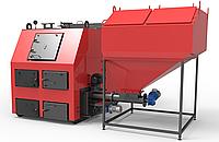 РЕТРА-4М ДУО 1000 кВт Котел Твердотопливный Пелетный с Бункером и Автоматической Подачей Топлива