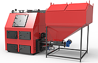 РЕТРА-4М ДУО 150 кВт Котел Твердотопливный Пелетный с Бункером и Автоматической Подачей Топлива