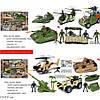 Военный транспортный набор для мальчиков 2 вида.