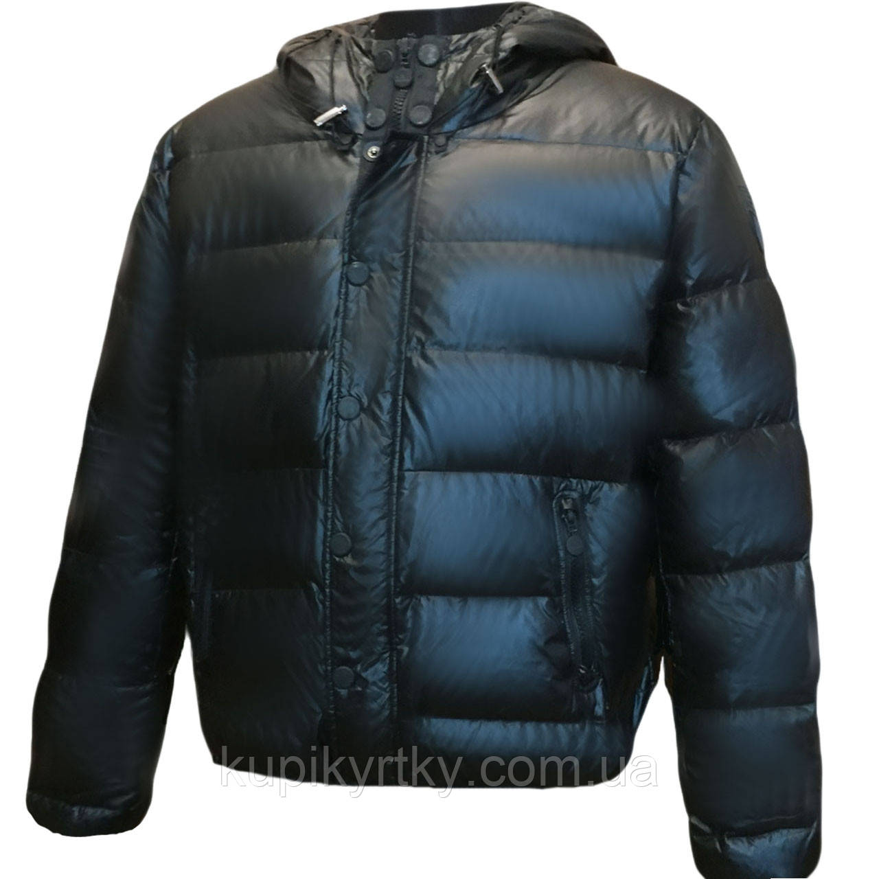 Куртка мужская зимняя на пуху  ARMANI (италия)