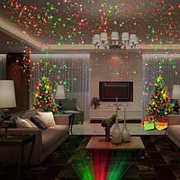 Новогодний Лазерный проектор,Лазер с проектором star showerуличный