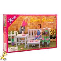 Мебель Gloria для сада,скамейка,цветы, в коробке 30195 см