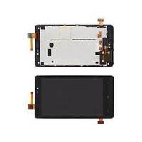 Дисплей LCD + тачскрин Nokia Lumia 820 модуль