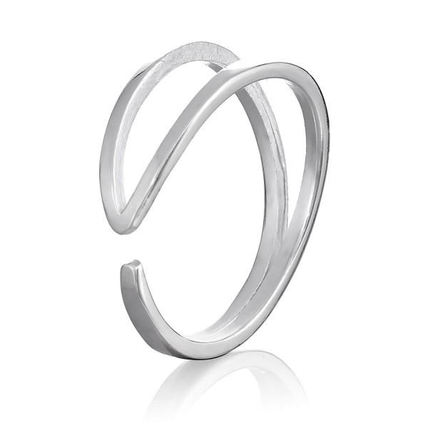 Срібне кільце безрозмірне