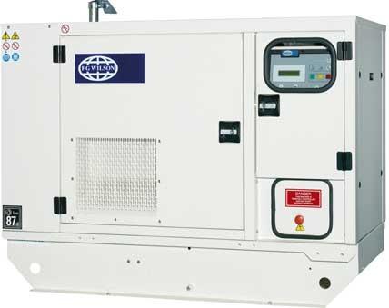 Однофазный дизельный генератор FG WILSON P16.5-6S (16,5 кВт)