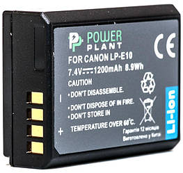 Аккумулятор PowerPlant Canon LP-E10 1200mAh (DV00DV1304)