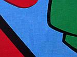 Комплект детского постельного белья ELWAY (Польша) 3D сатин полуторное (196), фото 2
