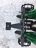 Картофелесажалка мототракторная двухрядная цепная Шип 120 л (одноточ. сцеп.), фото 4