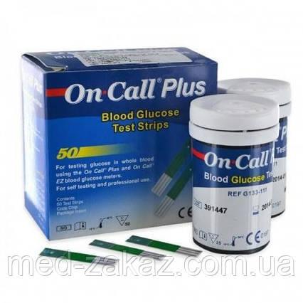 Тест-полоски On-Call Plus, 100 шт.