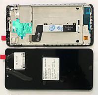 Дисплей модуль для Xiaomi Redmi Note 5 / Note 5 Pro в зборі з тачскріном, чорний, з рамкою