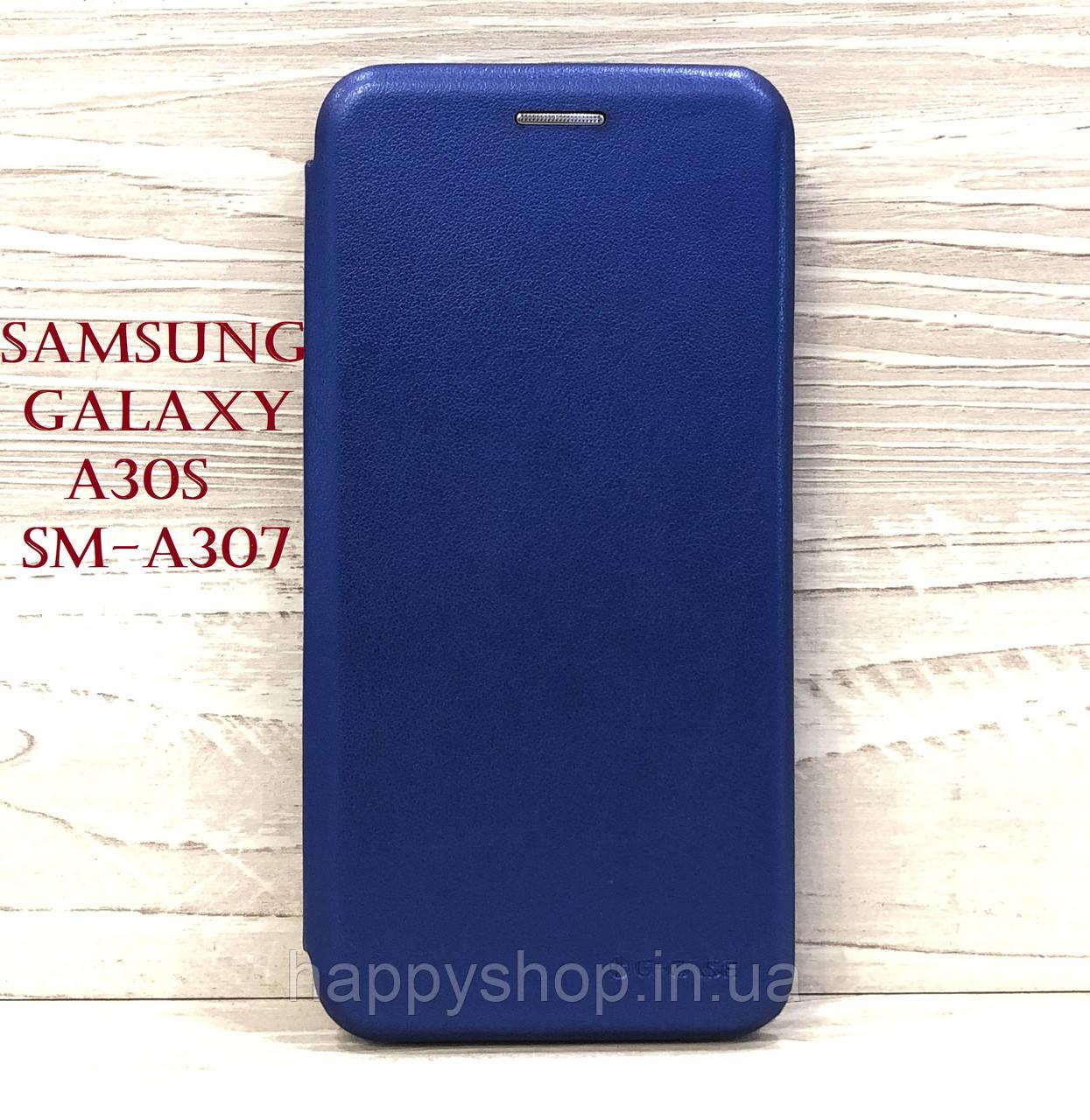 Чехол-книжка G-Case для Samsung Galaxy A30s (SM-A307) Синий