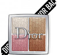 Палетка хайлайтер Christian Dior Backstage Glow Face Palette Highlight&Blush
