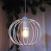 """Подвесной металлический светильник, современный стиль, loft, vintage, modern style """"ARC-W"""" Е27  белый цвет, фото 1"""