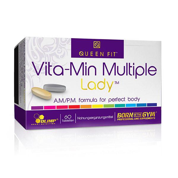 Витамины для женщин OLIMP Vita-Min Multiple Lady (60 табл) олимп