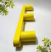 Настенный светильник, потолочная лампа, минимализм, стандартный цоколь, желтый цвет, фото 1