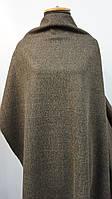 Ткань пальтовая кашемир болотного цвета (хаки), фото 1