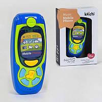 Телефон K 999-72 B ГОЛУБОЙ, световые и звуковые эффекты