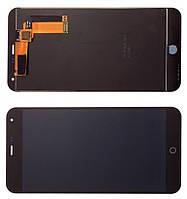 Дисплей модуль Meizu M1 Note в зборі з тачскріном чорний