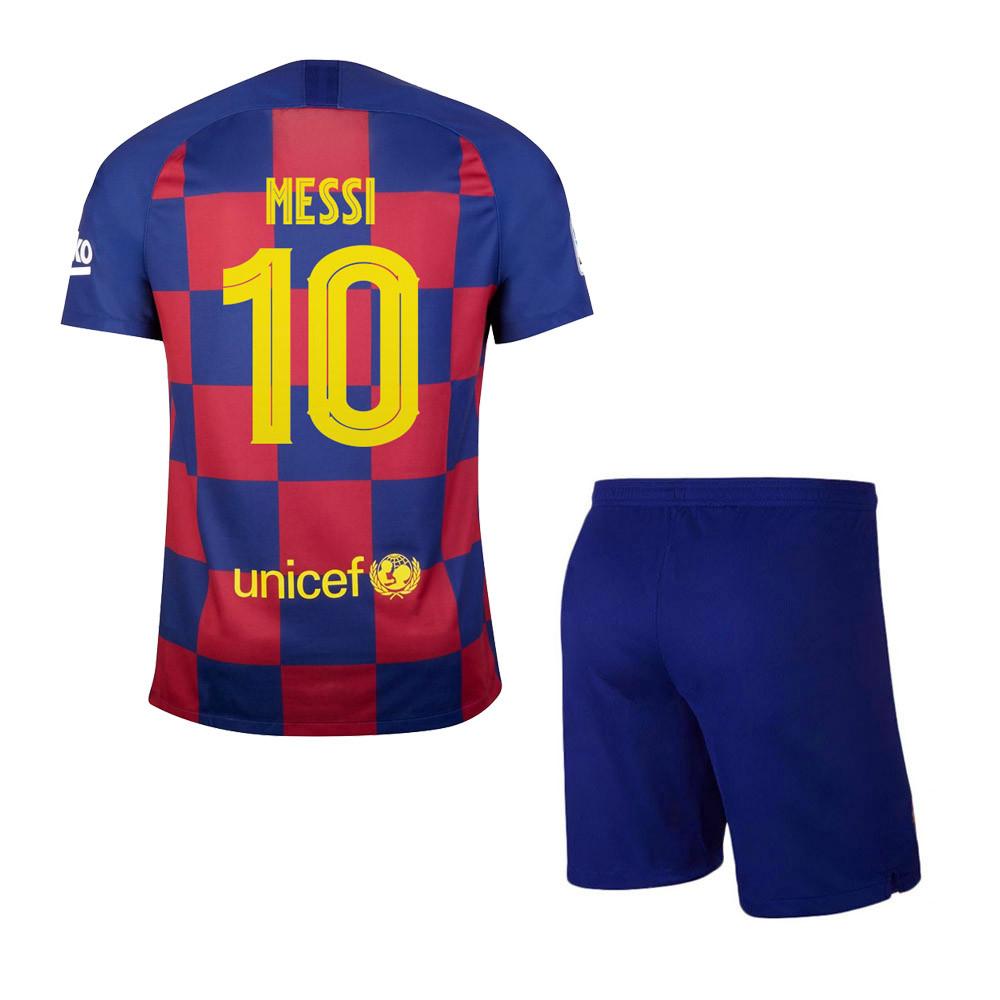 Детская футбольная форма Барселона Месси сезон 2019-20