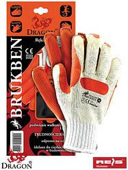 Захисні рукавички BRUKBEN WP 10-12шт
