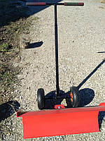 Лопата для снега ручная, снегоуборочный отвал на колесиках