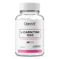OstroVit, Карнитин Supreme Capsules L-Carnitine 1250, 60 капсул