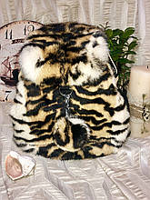 Рюкзак з натуральним хутром