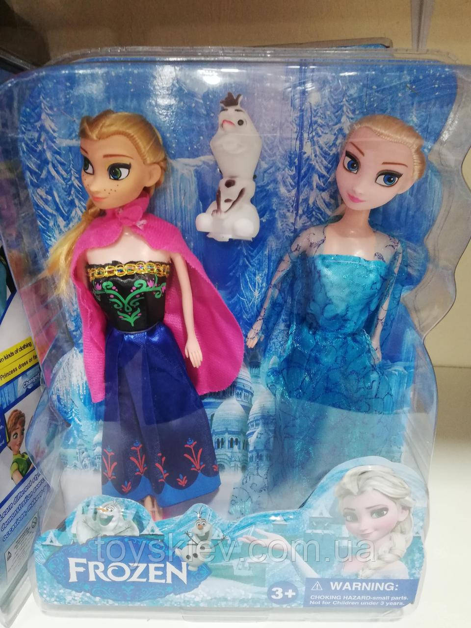 Кукла Frozen Анна и Эльза Холодное сердце 6698-2