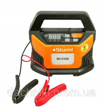 Интеллектуальное зарядно-пусковое устройство Sturm ( 12В, 18А, 2-400Ач)