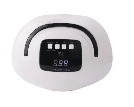 LED/UV Лампа T1 для сушки геля и гель-лака на 2 руки, 96 Вт