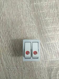 Кнопка-выключатель для бытовых приборов, 16A, 6 контактов